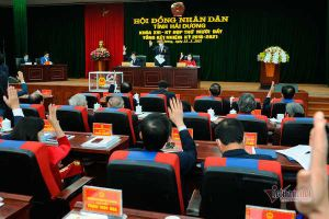 Bí thư Tỉnh ủy Hải Dương Phạm Xuân Thăng được bầu làm Chủ tịch HĐND tỉnh