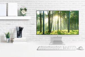 ASUS Vivo AiO V222 ra mắt: máy tính đa năng thiết kế đẹp, màn hình NanoEdge