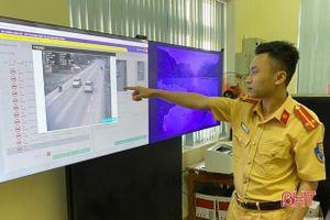 Hơn 7.000 trường hợp vi phạm giao thông qua camera giám sát tự động trong quý I ở Hà Tĩnh