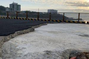 Hư hỏng ở công trình cảng Bến Đình (Lý Sơn, Quảng Ngãi): Khắc phục thế nào?