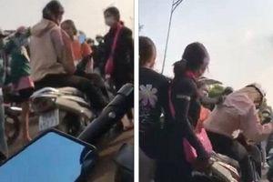 Mâu thuẫn trên mạng xã hội, nữ sinh ở Bình Phước bị đánh hội đồng