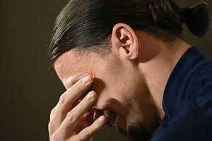 Ibrahimovic khóc trong ngày trở lại đội tuyển Thụy Điển