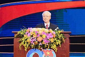 Tổng Bí thư, Chủ tịch nước Nguyễn Phú Trọng: 'Tiền đồ xán lạn của dân tộc đang nằm trong tay và chờ đón tuổi trẻ nước ta'