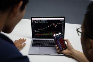 Cổ phiếu tân binh tăng cao ngày chứng khoán rơi mạnh