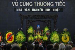 Tiễn biệt nhà văn Nguyễn Huy Thiệp: Còn mãi trong ký ức, kỷ niệm của bạn bè, đồng nghiệp