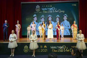 Khởi động cuộc thi Hoa khôi Sinh viên tài năng NHG 2021