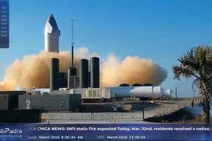 SpaceX khai hỏa động cơ mới cho tàu vũ trụ hiện đại