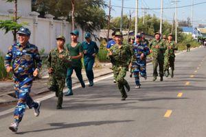 Đồn Biên phòng Cần Thạnh tổ chức 'Ngày chạy thể thao quân sự' 2021