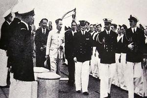 Cuộc gặp gỡ đầu tiên giữa Chủ tịch Hồ Chí Minh với D'Argenlieu trên vịnh Hạ Long
