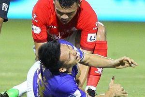 Mức độ nghiêm trọng trong chấn thương của cầu thủ Hùng Dũng?
