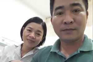 Vợ chồng thầy giáo nhận tin vui sau 12 năm hiếm muộn