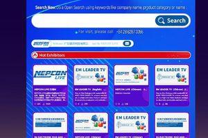 Việt Nam triển lãm trực tuyến kết nối đa diện ngành điện tử