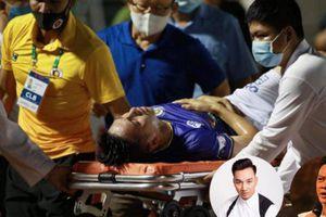 Hùng Dũng gặp chấn thương kinh hoàng, sao Việt phản ứng cực gắt