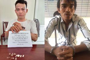 Bắt 2 vụ tàng trữ trái phép chất ma túy