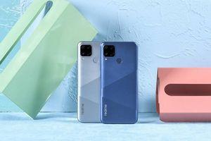 Realme C25 ra mắt - Pin lớn, sạc nhanh, giá 3,4 triệu đồng
