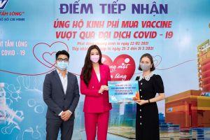 Hoa hậu Khánh Vân đóng góp vào quỹ 'Chung một tấm lòng' chung tay đẩy lùi dịch Covid-19