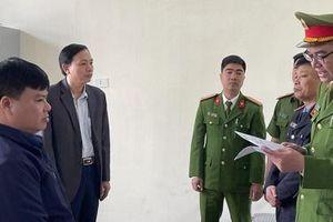 Thanh Hóa: Khởi tố Giám đốc Ban quản lý dự án huyện Ngọc Lặc