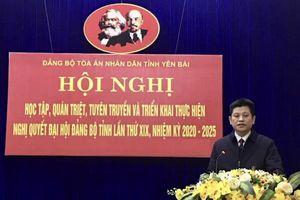 Chủ động tuyên truyền, đưa nghị quyết của Đảng vào cuộc sống