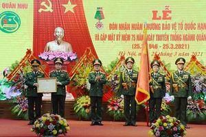 Cục Quân nhu (Tổng cục Hậu cần) đón nhận Huân chương Bảo vệ Tổ quốc hạng Nhì