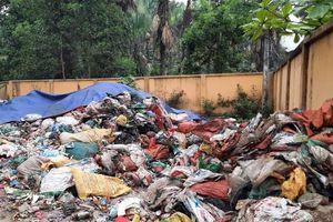 Định Hóa - Thái Nguyên: Lò đốt rác hành dân