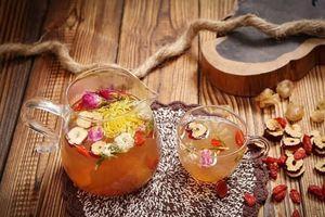 3 món trà dưỡng nhan giúp da hồng hào