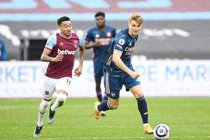 Arsenal: Odegaard xuất sắc một cách toàn diện