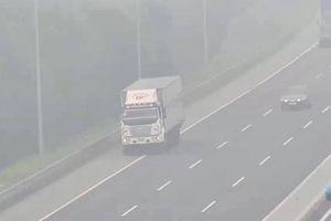 Xử lý nghiêm tài xế lùi xe trên cao tốc Hà Nội - Hải Phòng