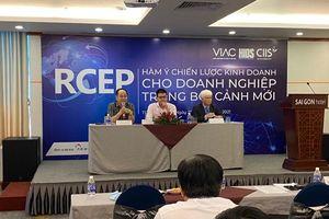Hội thảo Hiệp định RCEP, hàm ý chiến lược kinh doanh cho doanh nghiệp trong bối cảnh mới