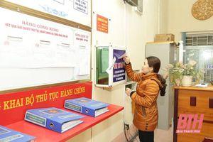 Đông Sơn - điểm sáng trong xác định chỉ số cải cách hành chính cấp xã