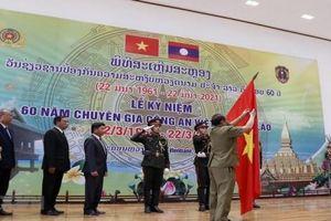 Trao tặng Huân chương Itsala (Tự do) cho Bộ Công an Việt Nam tại Lào