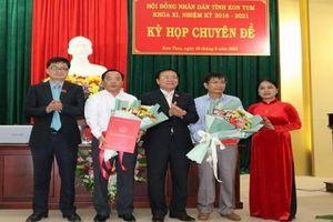 Phê chuẩn ông Nguyễn Ngọc Sâm giữ chức Phó Chủ tịch tỉnh Kon Tum