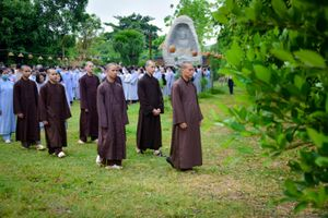 Gần 400 hành giả tham dự khóa tu đầu năm tại tu viện Khánh An