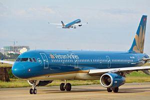 Vietnam Airlines tái khởi động bay thương mại quốc tế