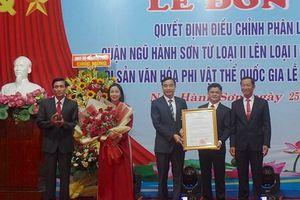 Lễ trao Bằng chứng nhận Lễ hội Quán Thế Âm - Ngũ Hành Sơn là di sản văn hóa quốc gia