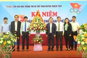 Huyện Thạch Thất: kỷ niệm 75 năm ngày thể thao Việt Nam