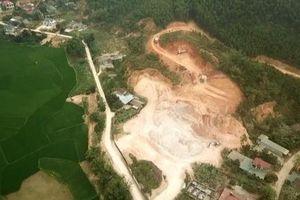 Núp bóng cải tạo rừng sản xuất để khai thác khoáng sản