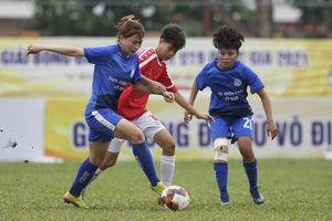 Toàn thắng 4 trận, Than KSVN vô địch lượt đi Giải bóng đá nữ U19 Quốc gia 2021