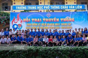 Cần Thơ: HS hào hứng tham gia Hội trại 'Đất Việt 4.000 năm'