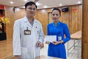 Bỏ quên 20 triệu đồng khi làm thủ tục nhập viện, bệnh nhân phấn khởi khi được trả lại