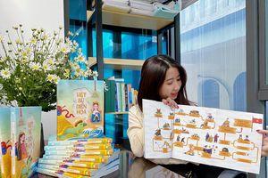 Từ đam mê hội họa đến vẽ hoạt hình 4.000 năm sử Việt của cô gái trẻ