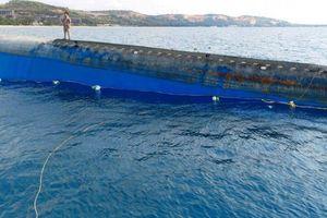 Tàu Bạch Đằng bị chìm trên biển Mũi Né sẽ được trục vớt thế nào?