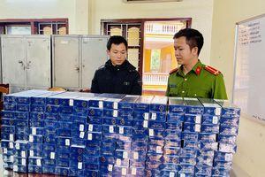 Thanh Hóa bắt giữ đối tượng vận chuyển 1.600 bao thuốc lá lậu