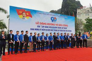 Đoàn Thanh niên Than Quảng Ninh: Lễ dâng hương và báo công của 'Lớp Đảng viên 90 năm thành lập Đoàn'