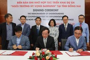 Samsung xây dựng Ngôi trường Hy vọng thứ 5 tại Việt Nam