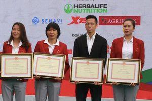 Trao thưởng HLV, VĐV tiêu biểu toàn quốc 2020