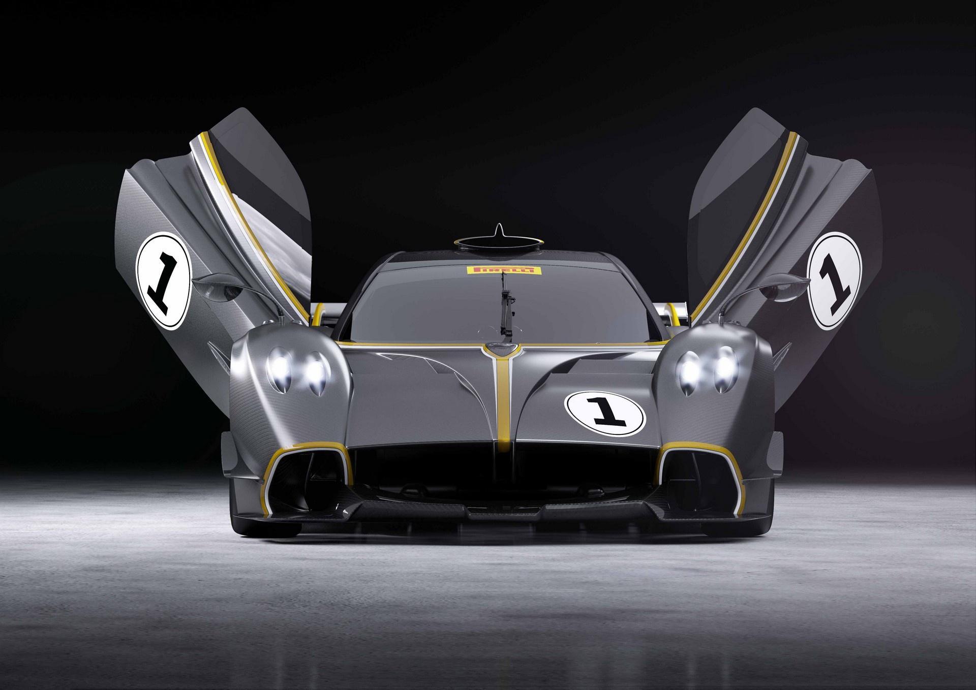 Pagani Huayra R - siêu phẩm giới hạn dành riêng cho đường đua
