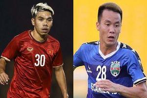 Hai ngôi sao được tiến cử thay thế Hùng Dũng tại đội tuyển Việt Nam