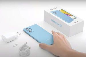 Samsung Galaxy A72 - 'trợ thủ' sáng tạo của người trẻ