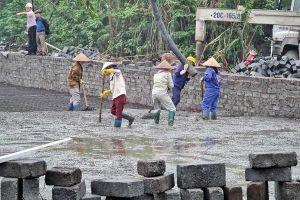 Gấp rút xây bãi chứa núi chất thải nguy hại lộ thiên ở Thái Nguyên