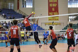 Thua Sanest Khánh Hòa, bóng chuyền Hà Tĩnh xếp thứ 4 Cúp Hoa Lư - Bình Điền 2021